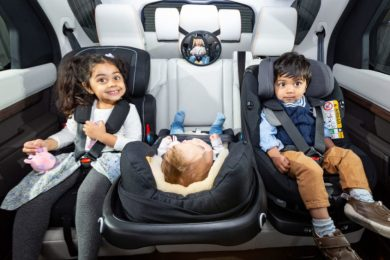 While SUVs dominate the sales charts, new research from What Car? has found MPVs are the superior choice for families with young children thanks to their capacity to accommodate a greater number of child seats.